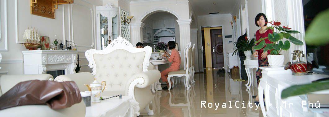 Thi công nội thất chung cư R1 Royal City Theo phong cách Tân cổ điển