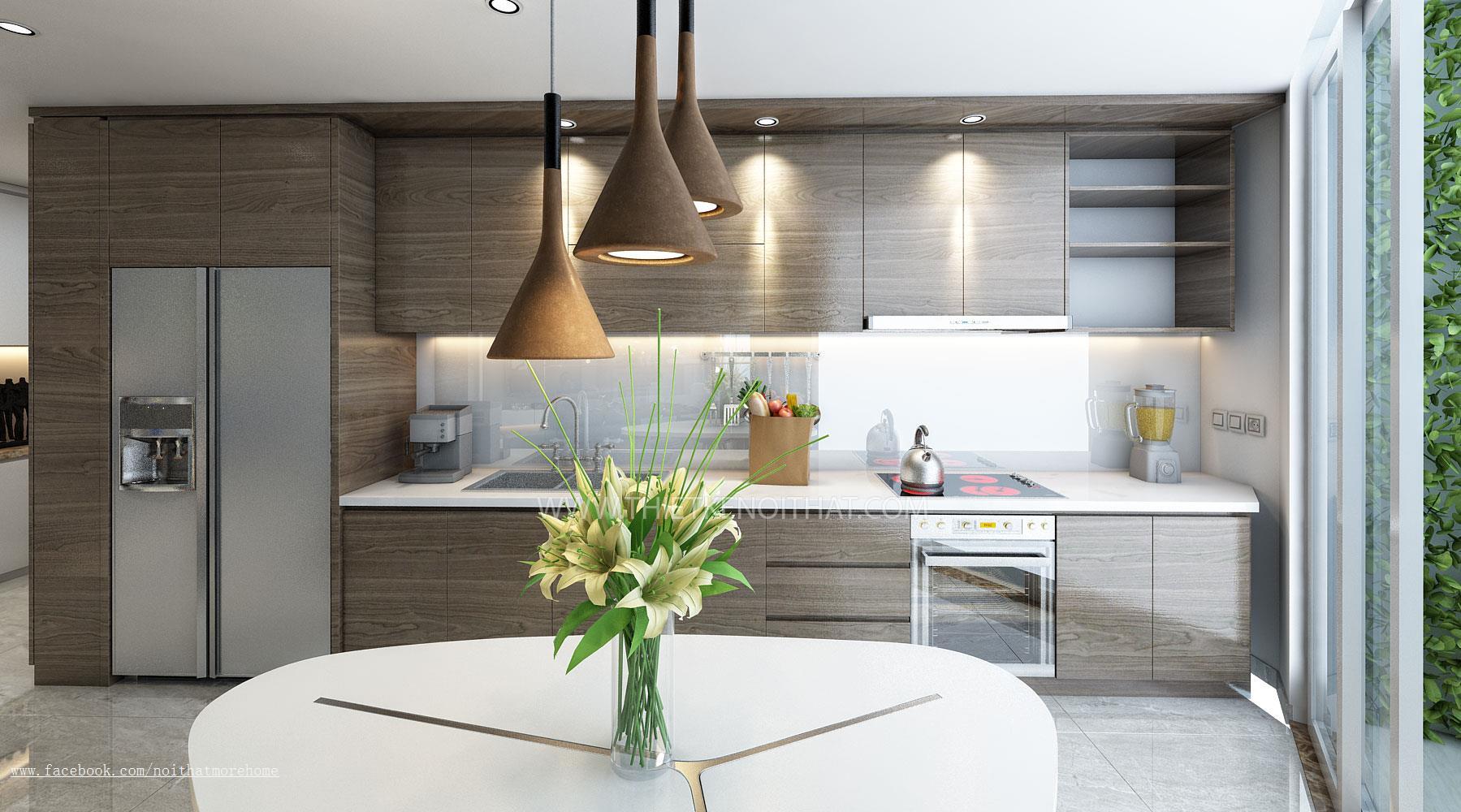 Thiết kế nội thất chung cư CT3 Nam Cường, Khu đô thị cổ nhuế