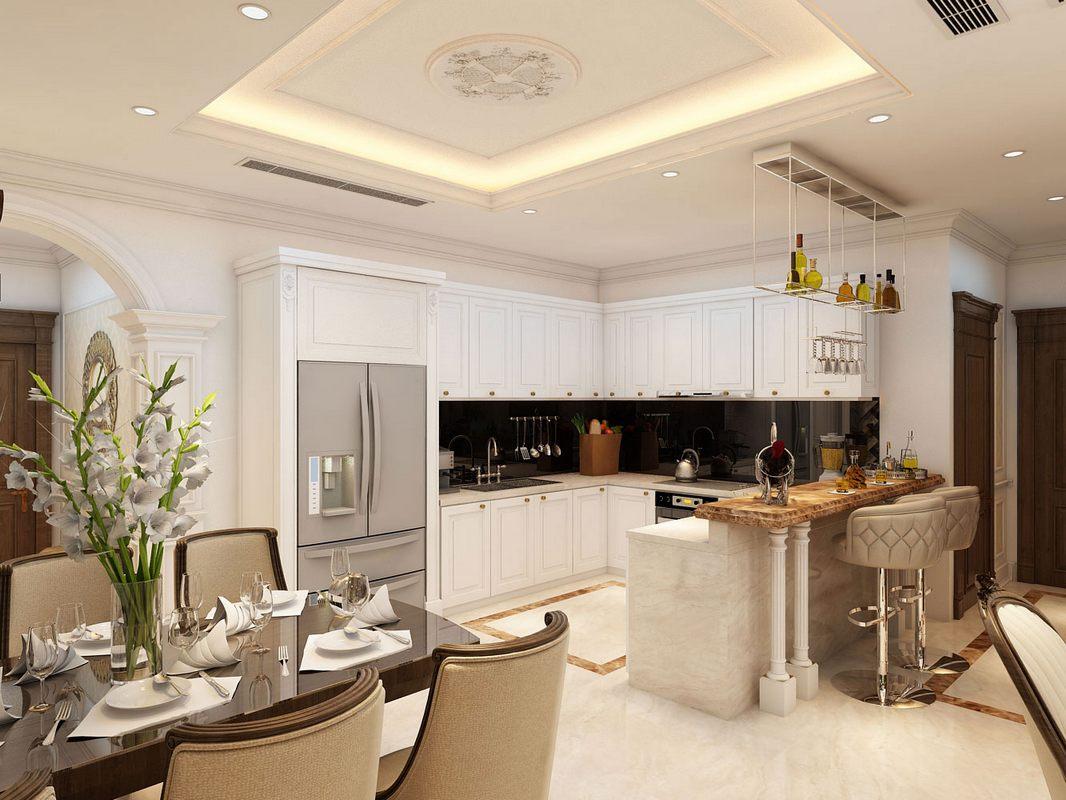 Thiết kế nội thất chung cư cao cấp tại Royal City