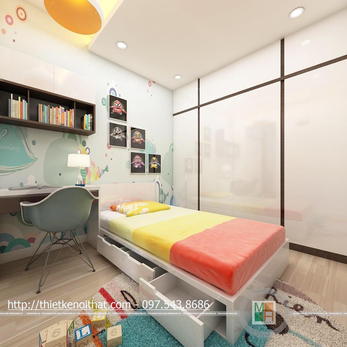 Thiết kế nội thất chung cư StarCity Lê Văn Lương