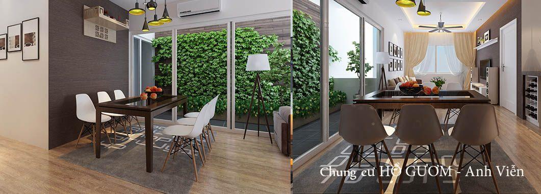 Thiết kế nội thất chung cư Hồ Gươm