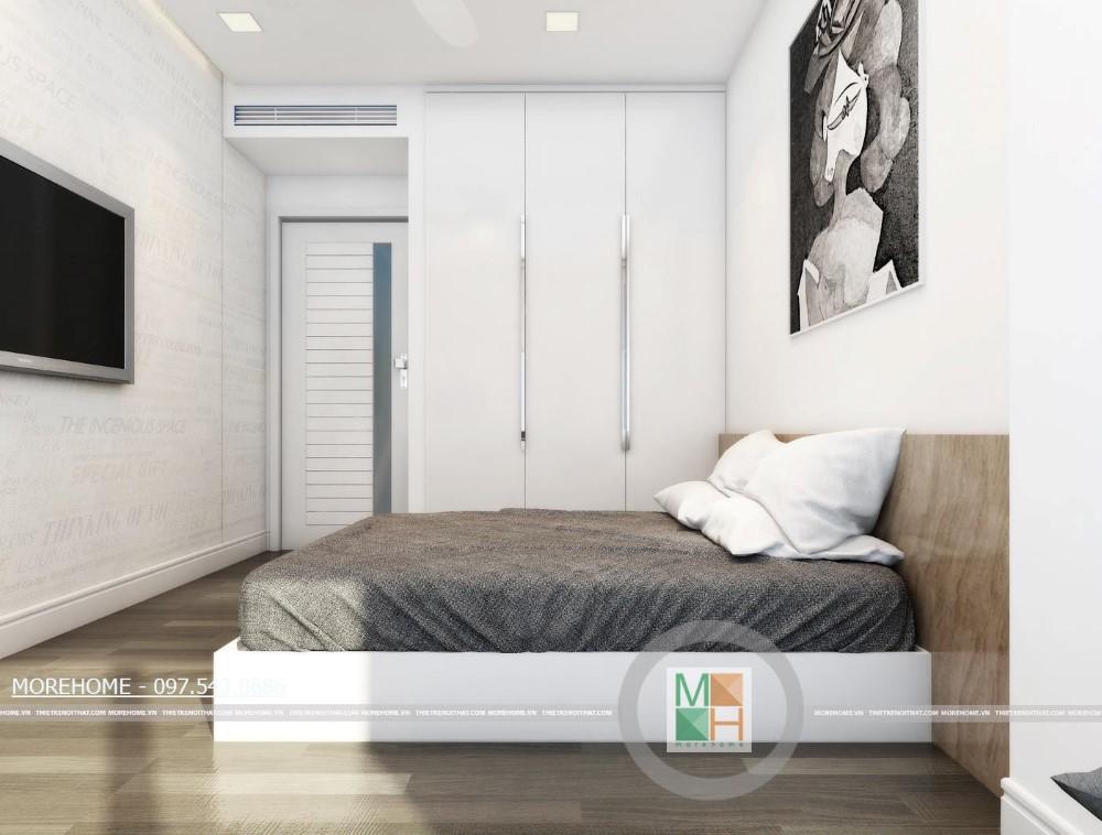 Thiết kế nội thất chung cư Mandarin Garden Hòa Phát