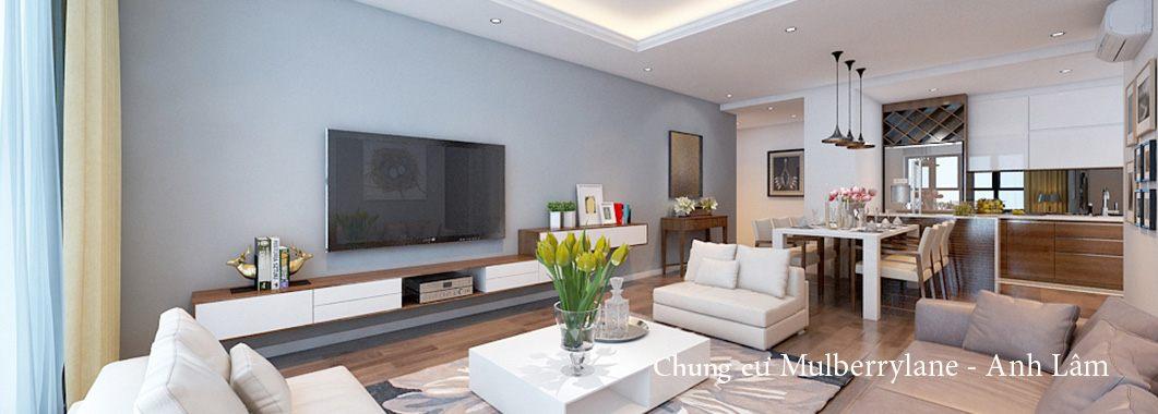 Thiết kế nội thất chung cư Mulberrylane