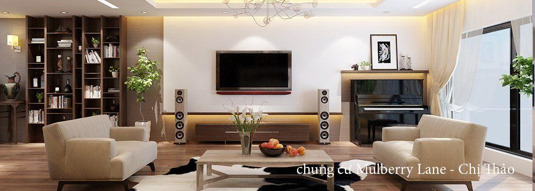 Thiết kế nội thất chung cư Mulberry Lane, Hà Đông
