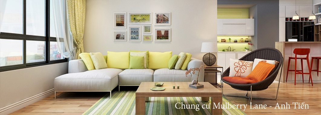 Thiết kế nội thất căn hộ chung cư cao cấp Mulberry Lane
