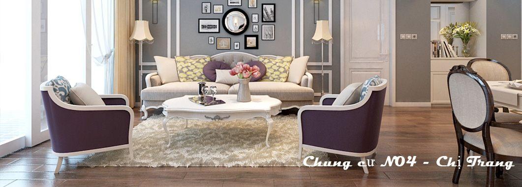 Thiết kế nội thất căn hộ chung cư N04 Trung Hòa Nhân Chính