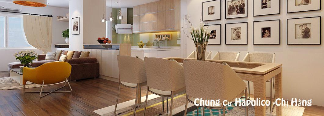 Thiết kế nội thất căn hộ chung cư Hapulico