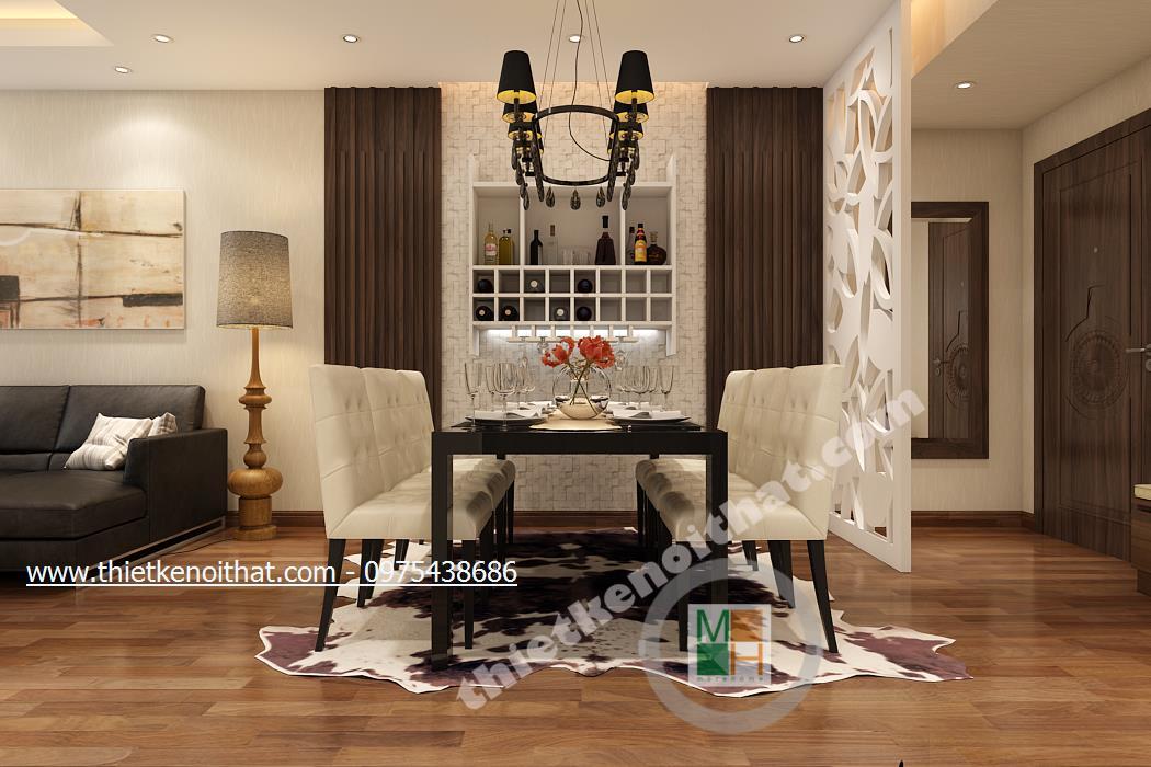 Thiết kế nội thất chung cư Royal City R5
