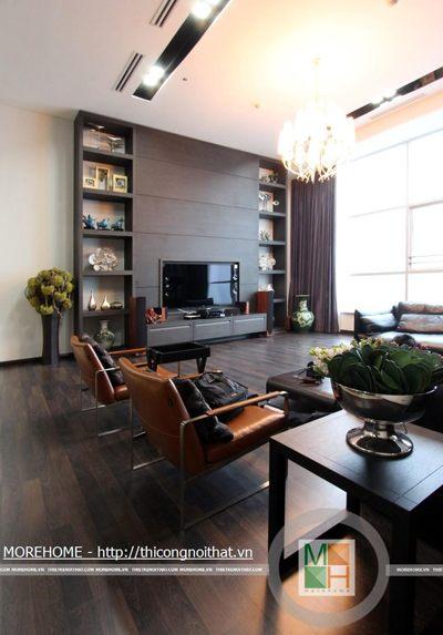Thi công nội thất Penthouse tại chung cư cao cấp KEANGNAM
