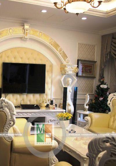 Thi công nội thất chung cư Royal City, VinHome - Chị Mai
