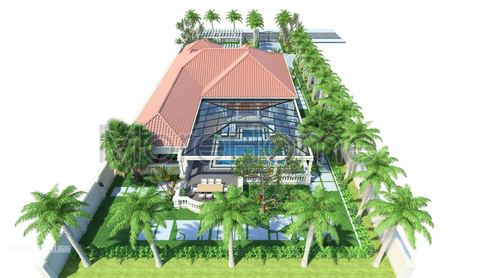 Thiết kế biệt thự nghỉ dưỡng cao cấp tại thanh hóa