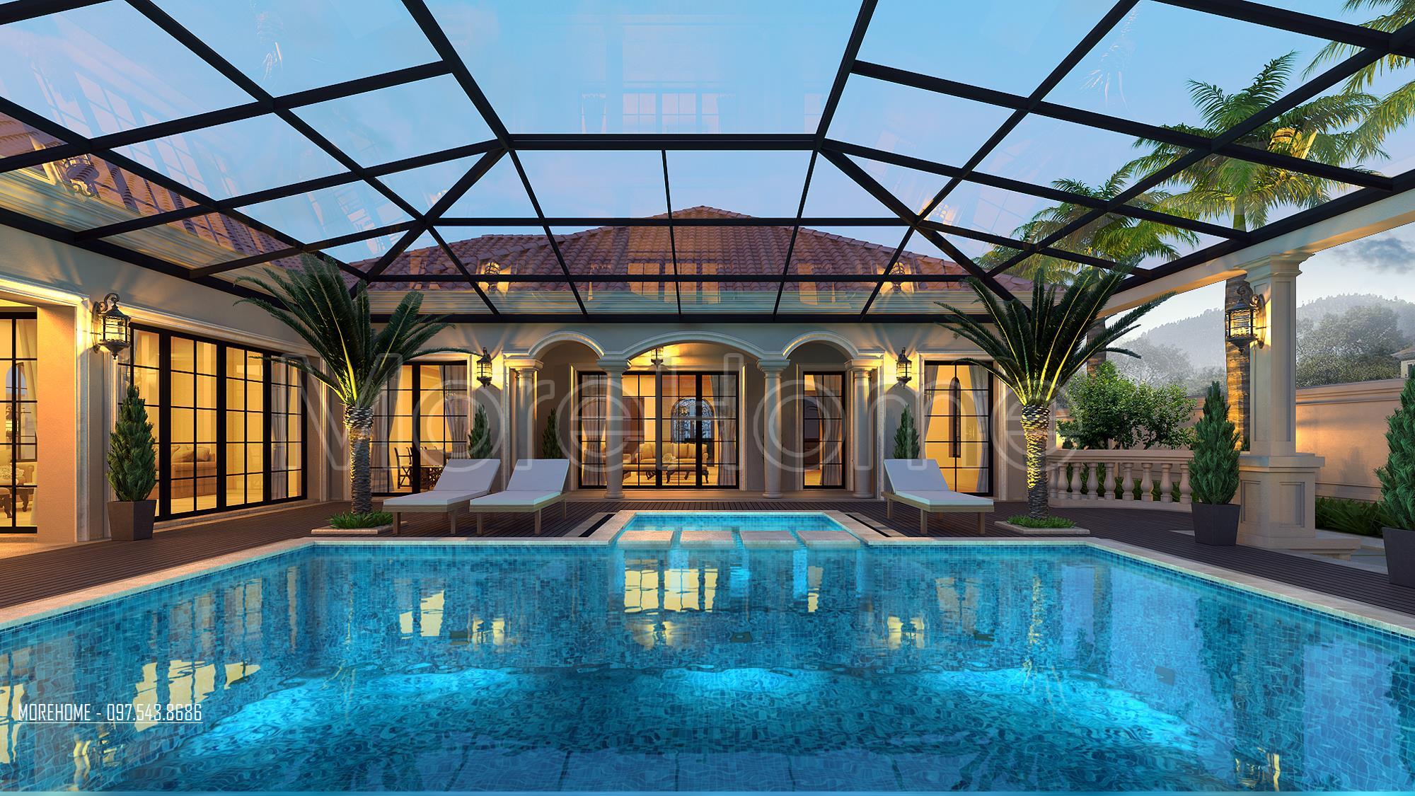 Thiết kế biệt thự nghỉ dưỡng cao cập tại Thanh Hóa