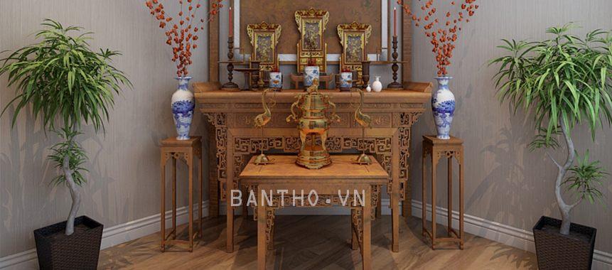 Tủ thờ - bàn thờ đẹp - Mẫu 04