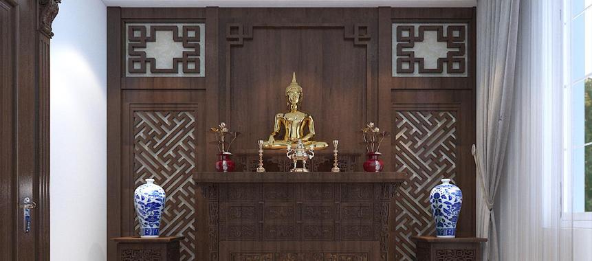 Bàn thờ đẹp tại biệt thự Splendora