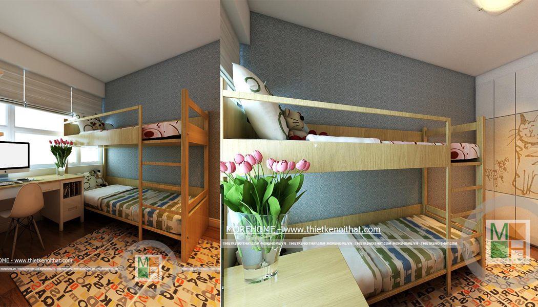 Mẫu giường tầng 06