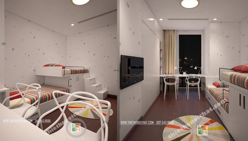 Giường tầng trẻ em - MH08