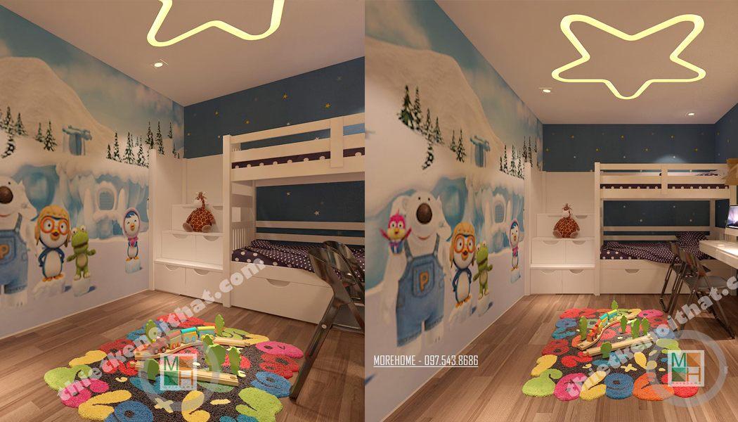 Mẫu giường tầng 02