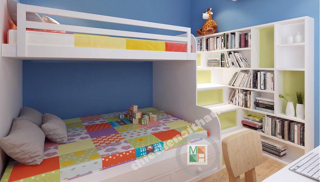 Mẫu giường tầng 07