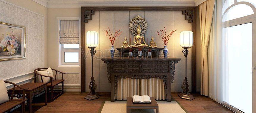 Bàn thờ Phật đẹp - Mẫu 06