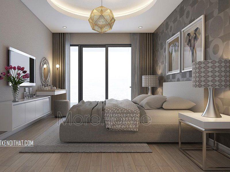 Thiết kế phòng ngủ khách sạn 4 sao tại Trung Kính
