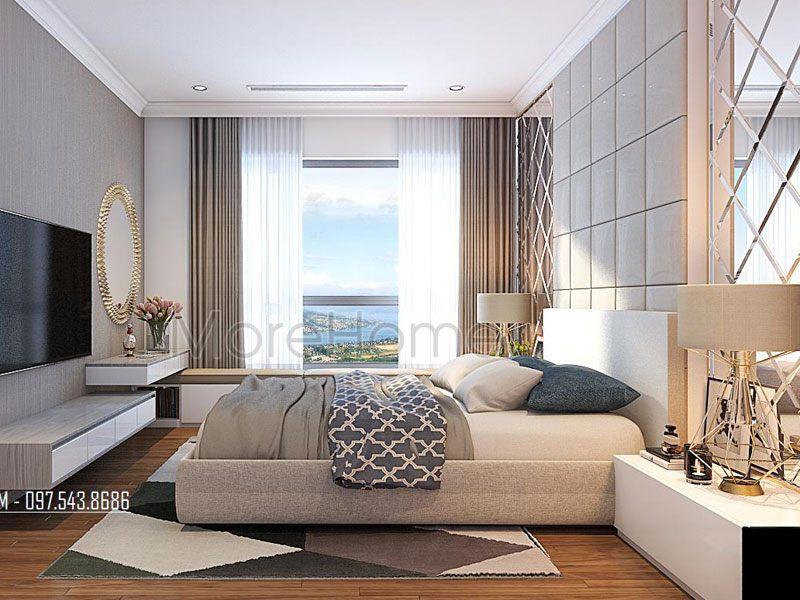 Thiết kế phòng ngủ khách sạn 4 sao cao cấp