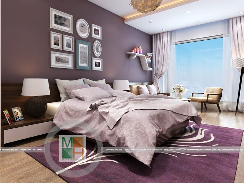 Thiết kế phòng ngủ khách sạn 5 sao cao cấp