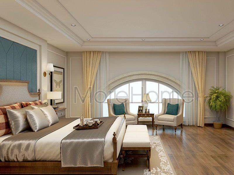 Thiết kế phòng ngủ khách sạn 5 sao tân cổ điển
