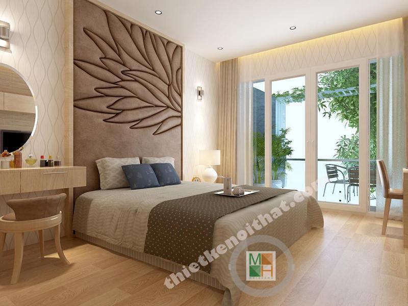 Thiết kế nội thất phòng ngủ khách sạn 3 sao