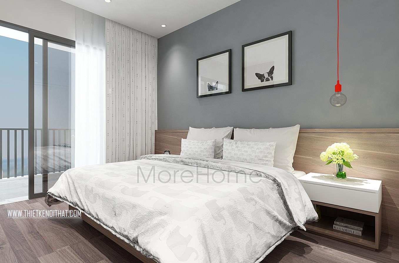 nội thất phòng ngủ KS 3 sao