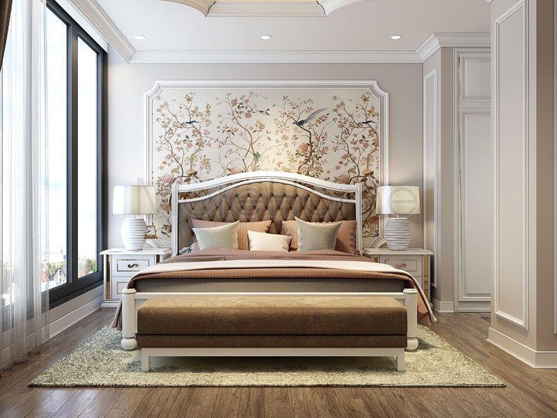 Nội thất phòng ngủ khách sạn 4 sao tại Hà Nội