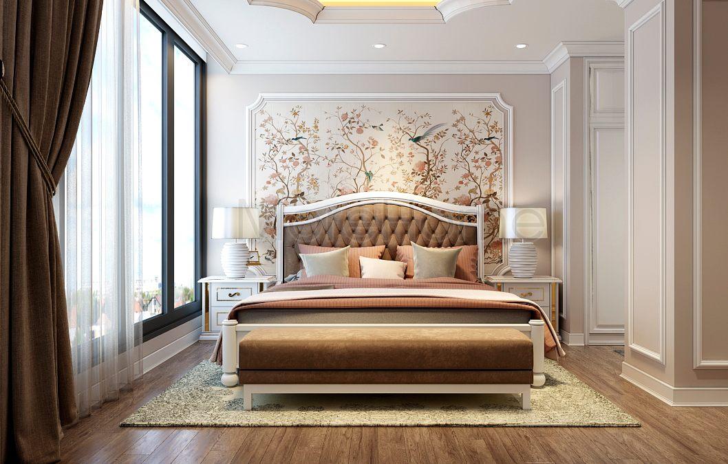 nội thất phòng ngủ ks 4 sao
