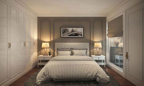 Giường ngủ đẹp cho căn hộ Penstudio Tây Hồ