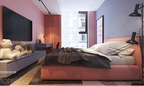 Mẫu giường ngủ đẹp cho chung cư Green Bay