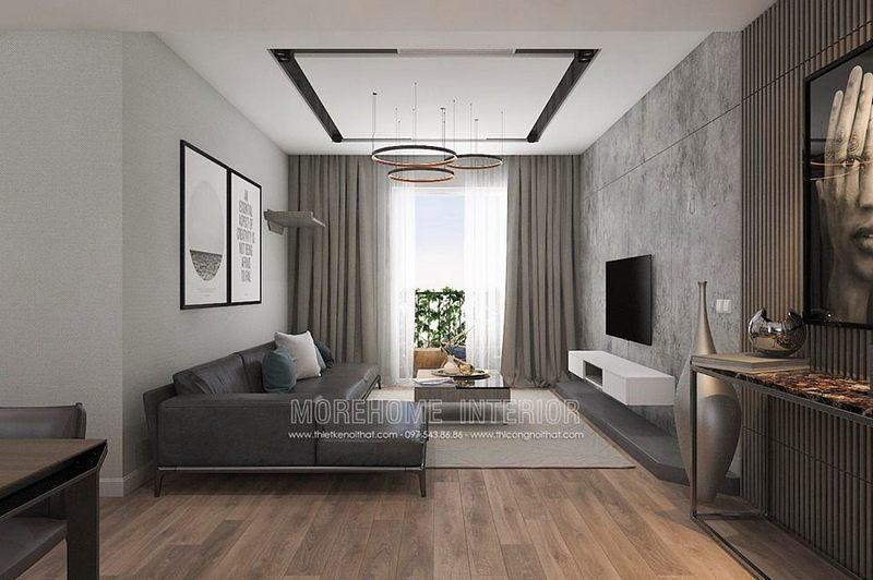 Thiết kế nội thất chung cư hiện đại, trẻ trung tại Seasons Avenue