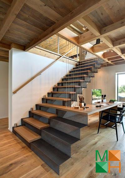 Những đặc điểm cơ bản của cầu thang gỗ