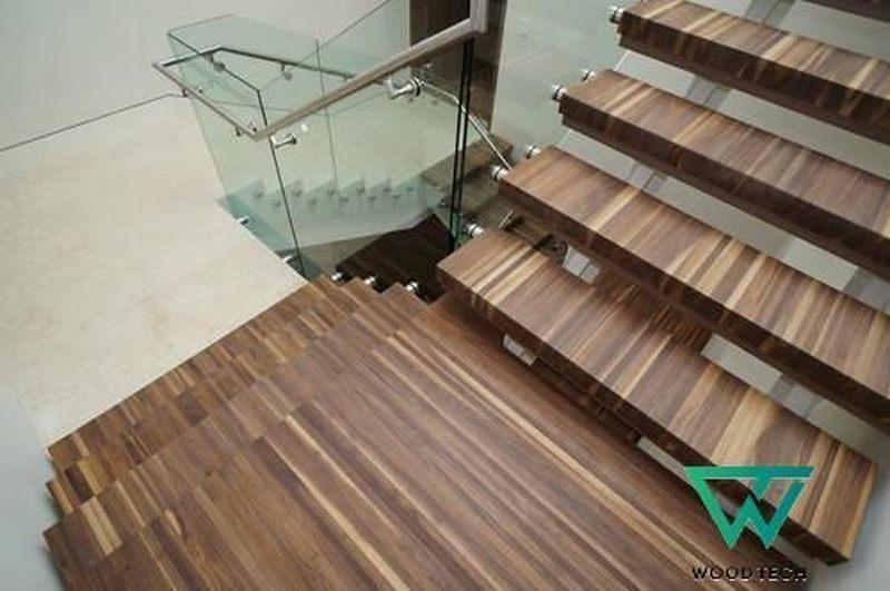 Thi công cầu thang gỗ