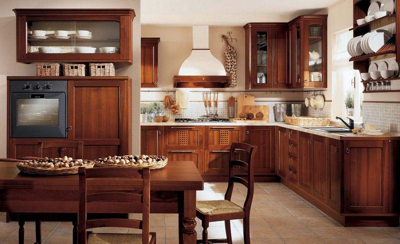 Những thiết kế nhà bếp bán cổ điển độc đáo