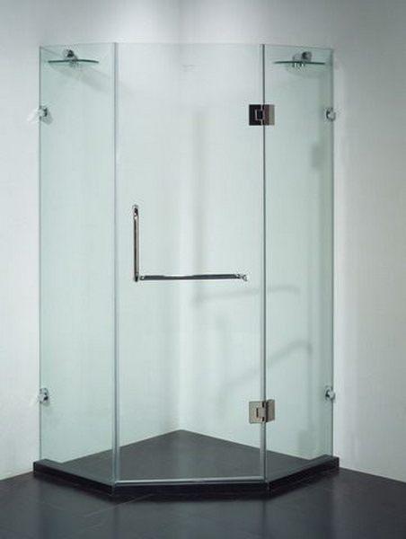 Cấu tạo ưu điểm của vách tắm kính vát góc 135 độ