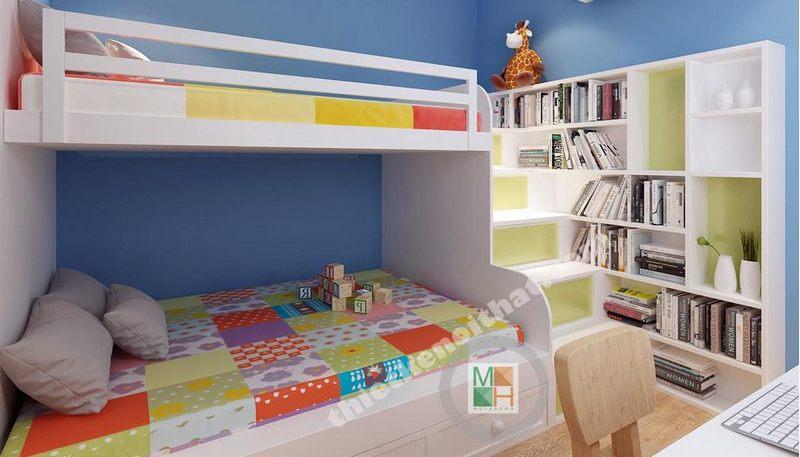 Những ưu điểm tuyệt vời của giường tầng trẻ em