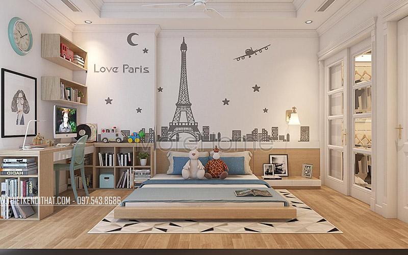 Thiết kế nội thất phòng ngủ của bé yêu tinh tế