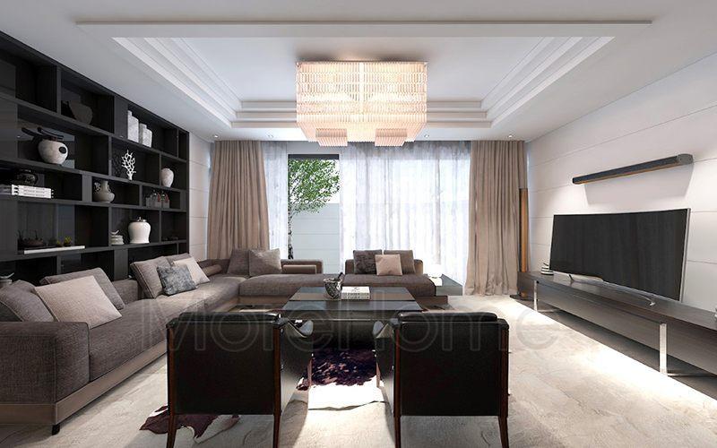 Mãn nhãn trước nét đẹp hiện đại trong thiết kế nội thất biệt thự