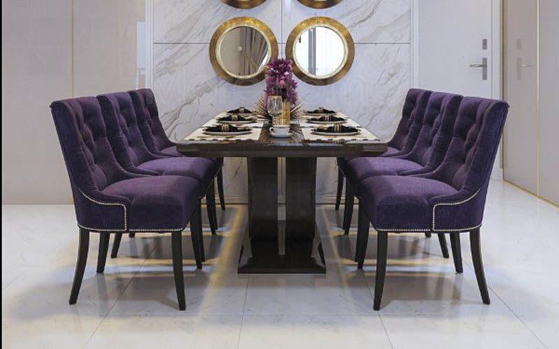 Thiết kế nội thất lãng mạn với gam màu tím