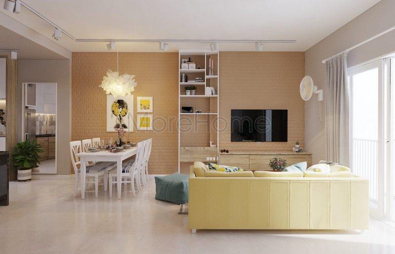 5 Cách thiết kế nội thất với màu vàng linh hoạt