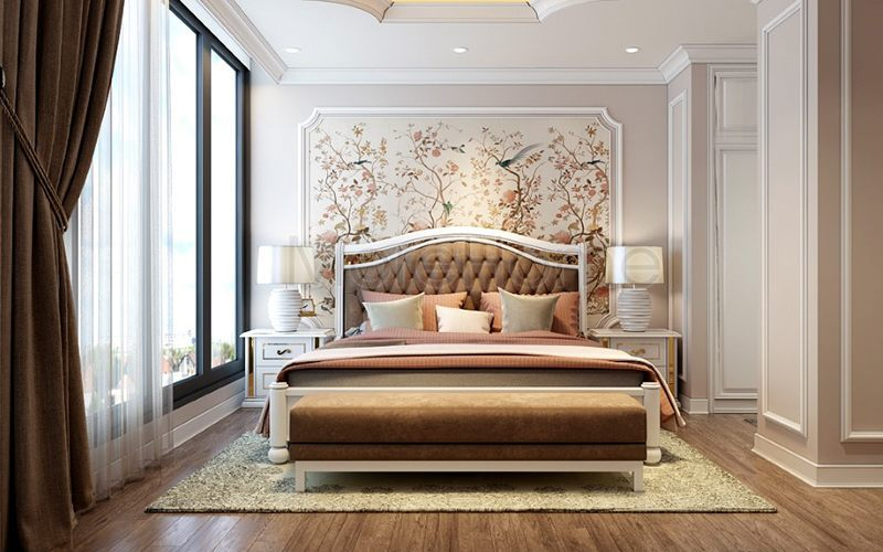 Tư vấn chọn giấy dán tường cho phòng ngủ