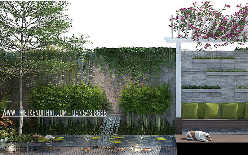 Thiết kế biệt thự nhà phố không gian đẹp đầy ấn tượng