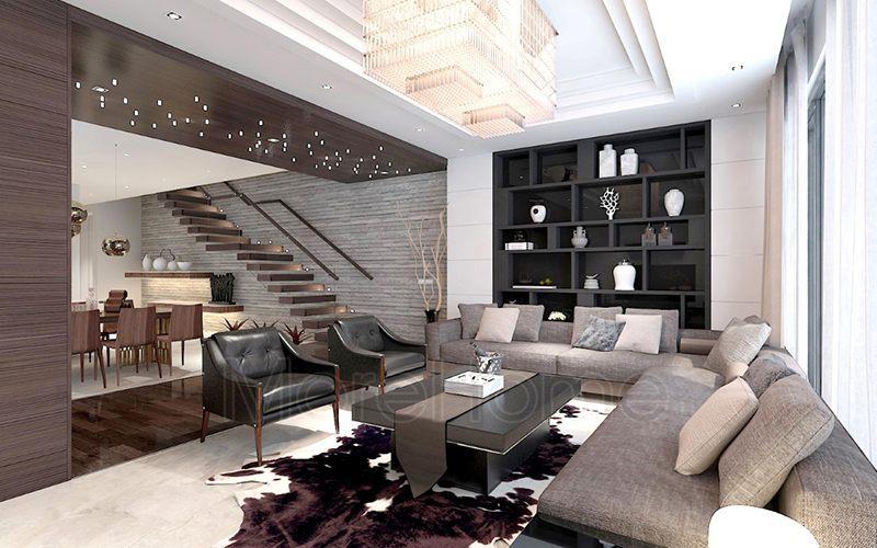 Thiết kế biệt thự phong cách hiện đại tại thành phố Vinh