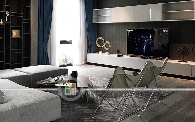 Ý tưởng trang trí nội thất biệt thự phong cách hiện đại