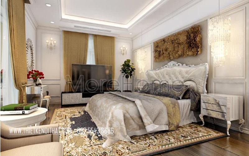 Chiêm ngưỡng nét đẹp thiết kế nội thất tân cổ điển