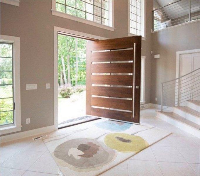 Top 10 mẫu cửa gỗ tự nhiên, cửa gỗ công nghiệp đang hot trong thiết kế nội thất hiện nay