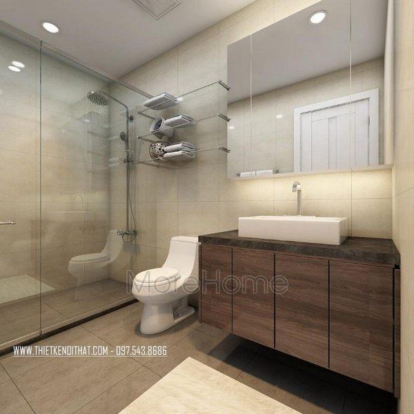 thiết kế phòng tắm nhỏ đẹp, nhà tắm đẹp đơn giản